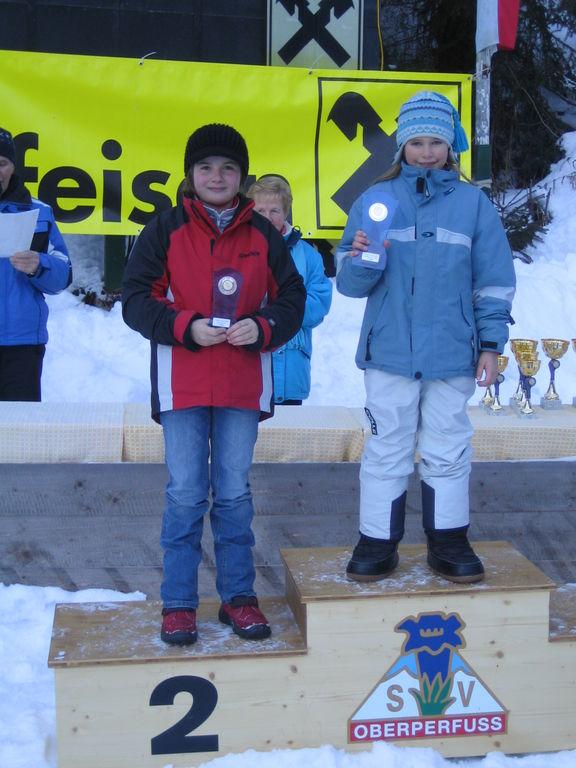 Maria Greil belegte Rang 2
