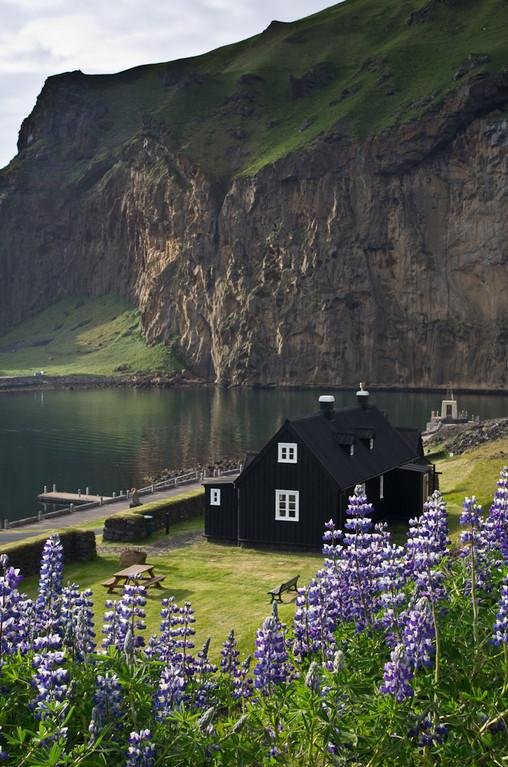 Maison typique Islandaise