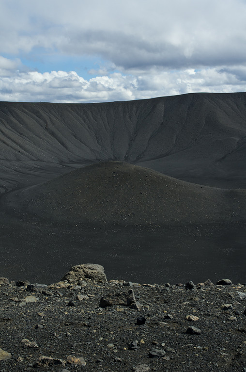 Le cratère Hverfjall