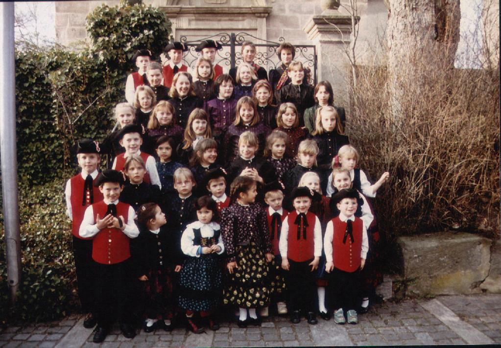 1992 die Kinder- und Jugendgruppe