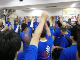 高知応援隊の出発式(2011/6/17)