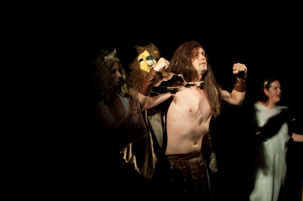 Hébé, Héraclès et Le Coryphée