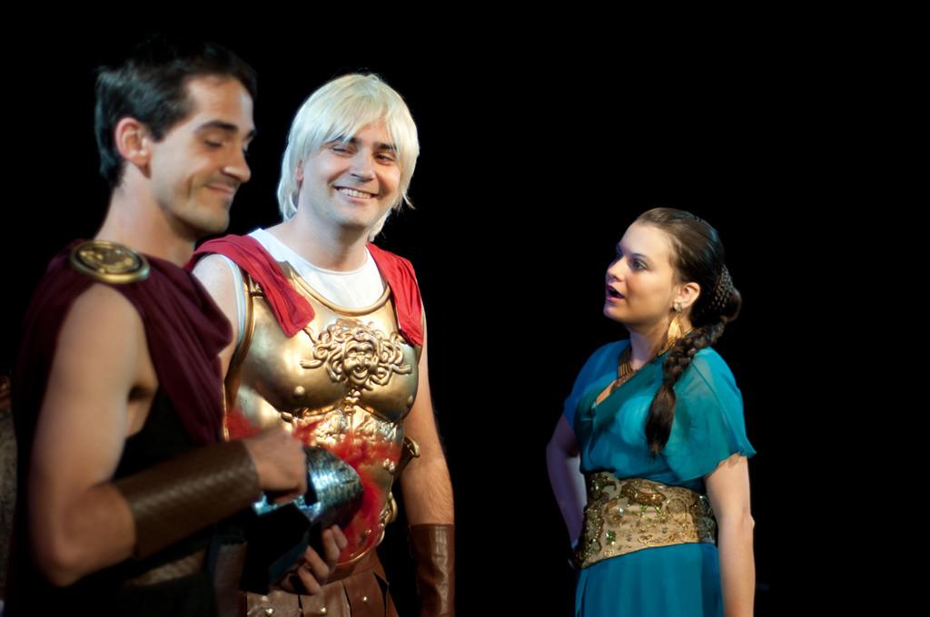 Léonidas, Ulysse, Pénélope