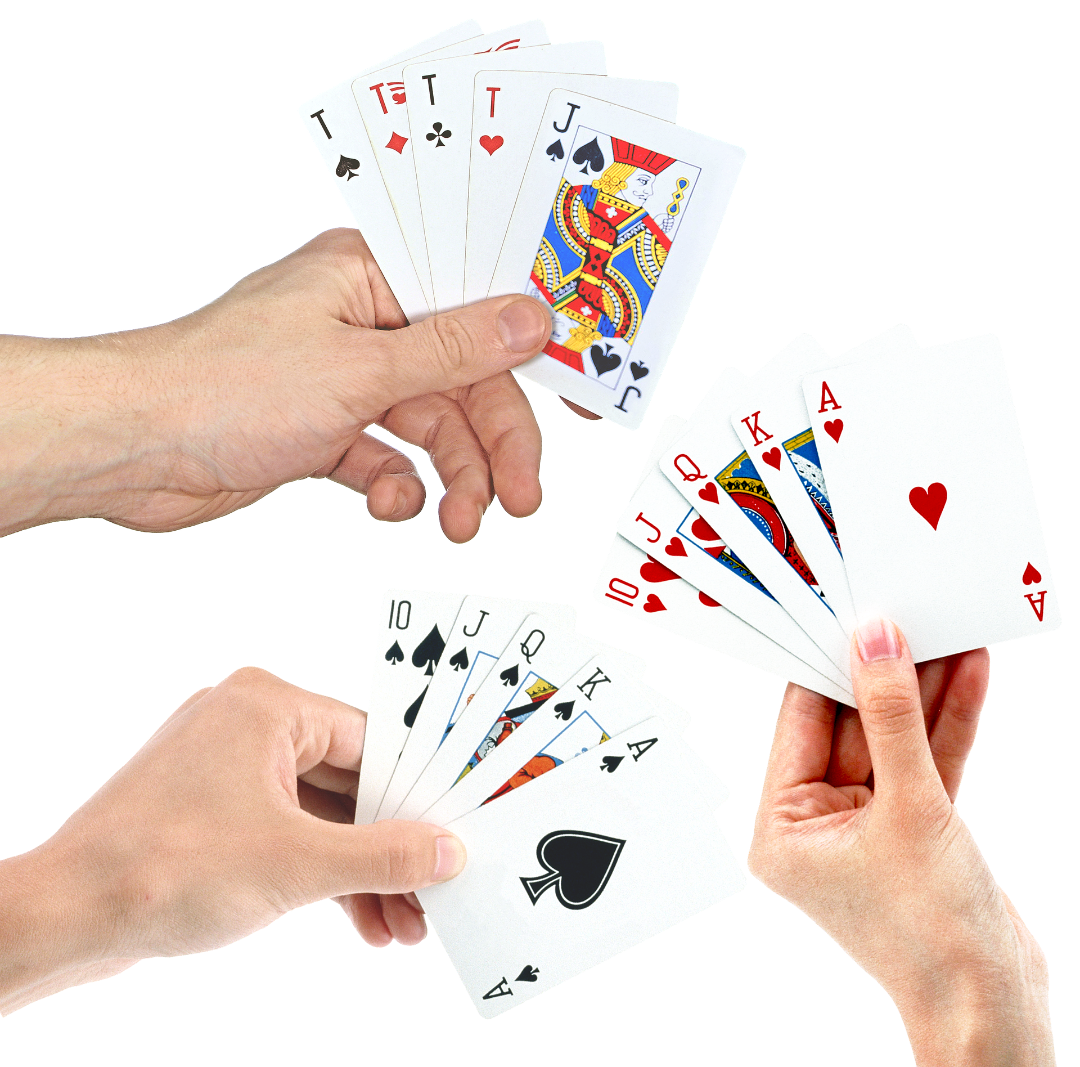 No depende de las cartas que tengas para ganar una partida.