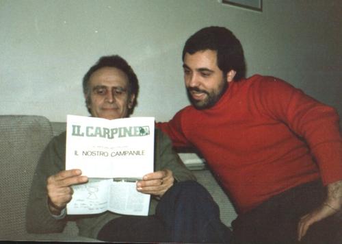 Vignettista dell'Avvenire Paolo Del Vaglio e Emilio Vittozzi