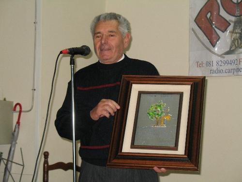 Premio Carpine d'Argento ad Ariosto Prudenziano