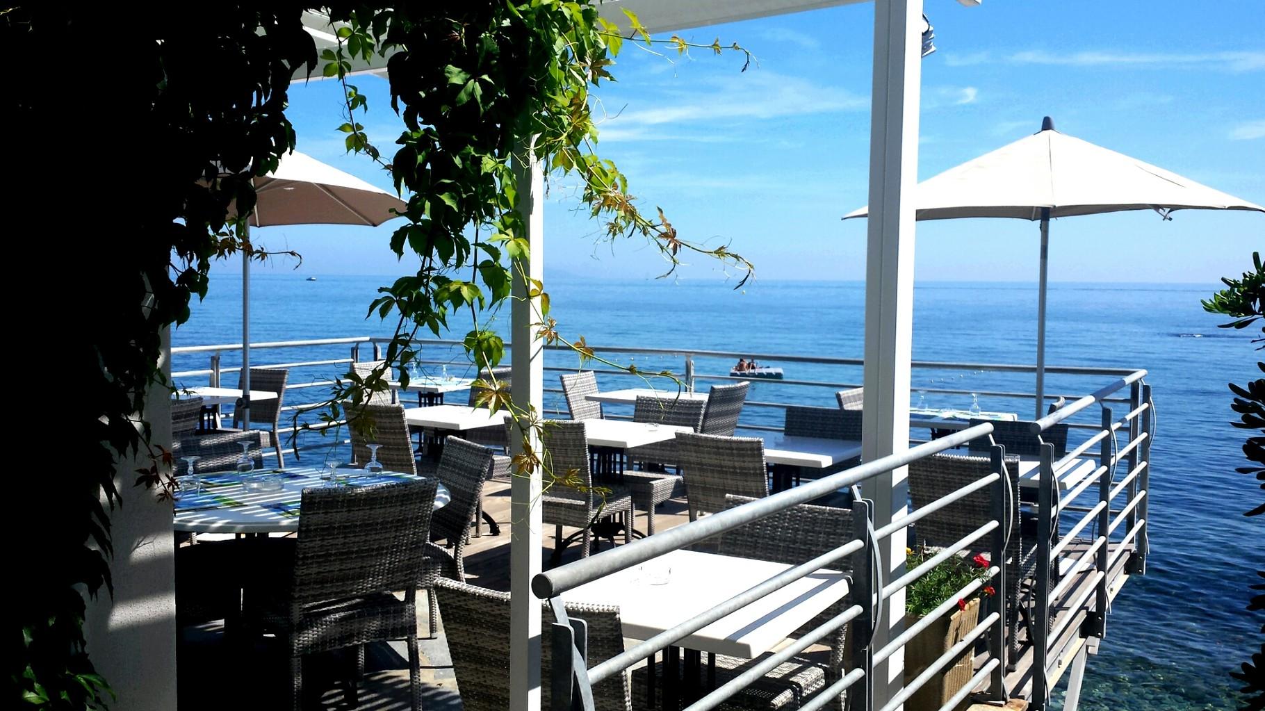 Restaurant A Casaïola, Plage de Sisco, Cap Corse