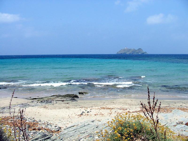 Plage de Barcaggio, Cap Corse