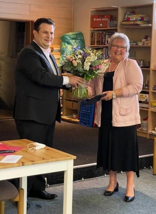 Vereinsvorsitzende Jenny Reissig erhält Bundesverdienstkreuz am Bande