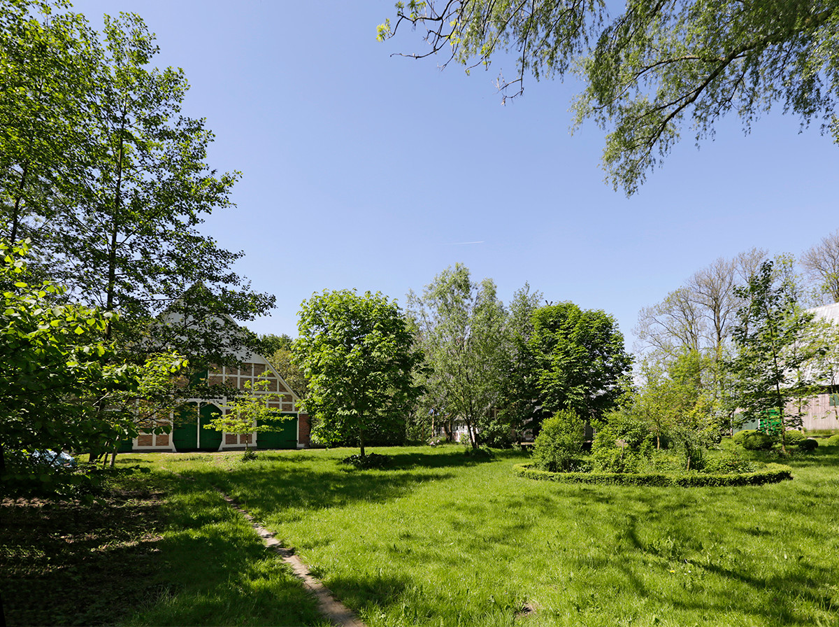 Großer parkartiger Garten