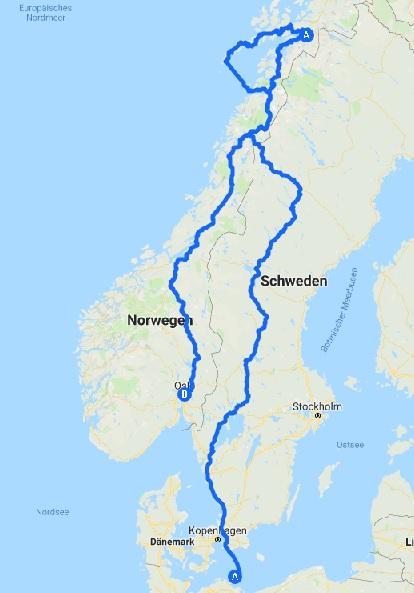 Norwegen Rundreise