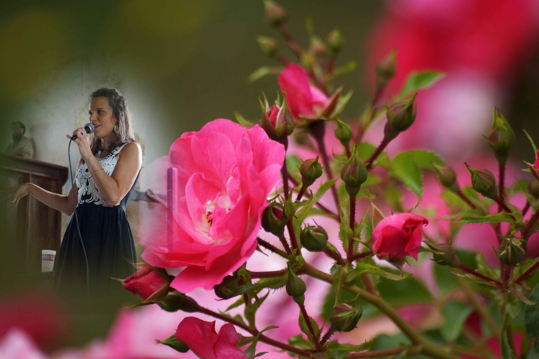 La Rose De Nuit ! Création ; Copyright Clarisse Lavanant ~ Glenmor ~ Jean-Yves Nicol