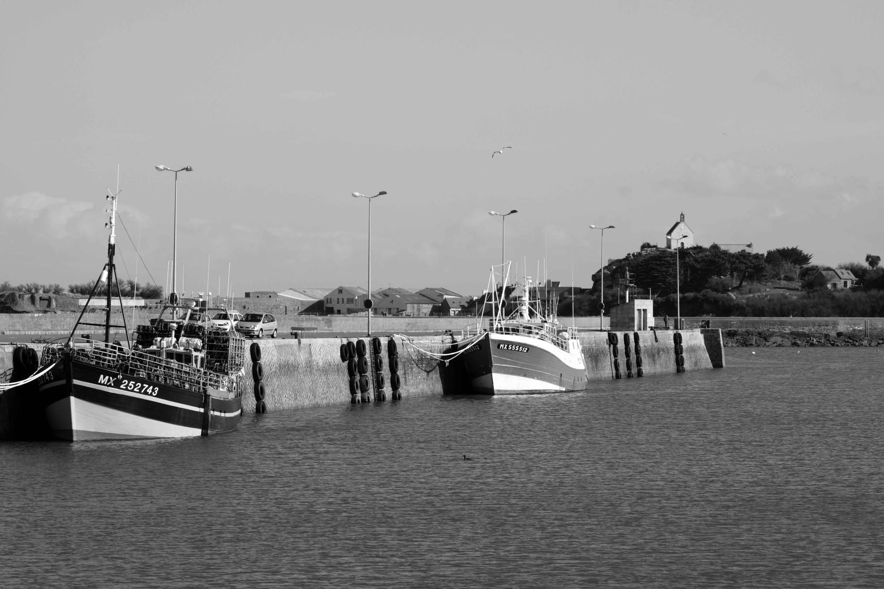 Sainte Barbe protège les pêcheurs Léonard !