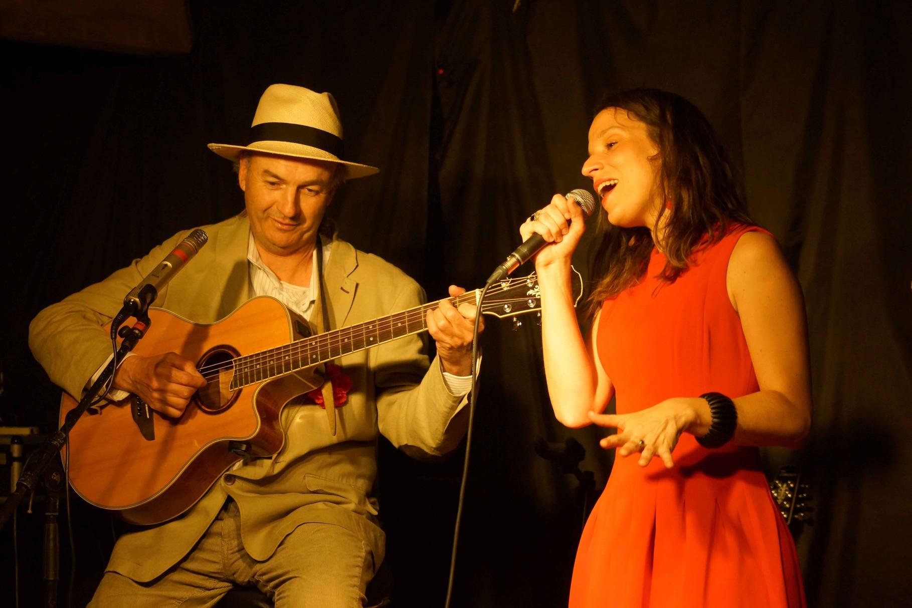 Abalip et Clarisse Lavanant, Le Temps des Cerises à Tonquédec 06.06.2014
