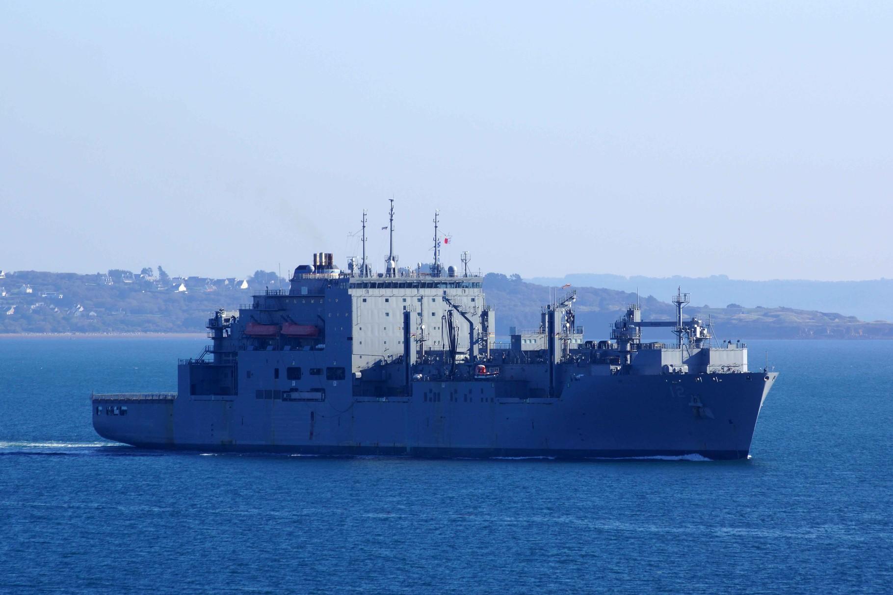 USS Maclean à Brest