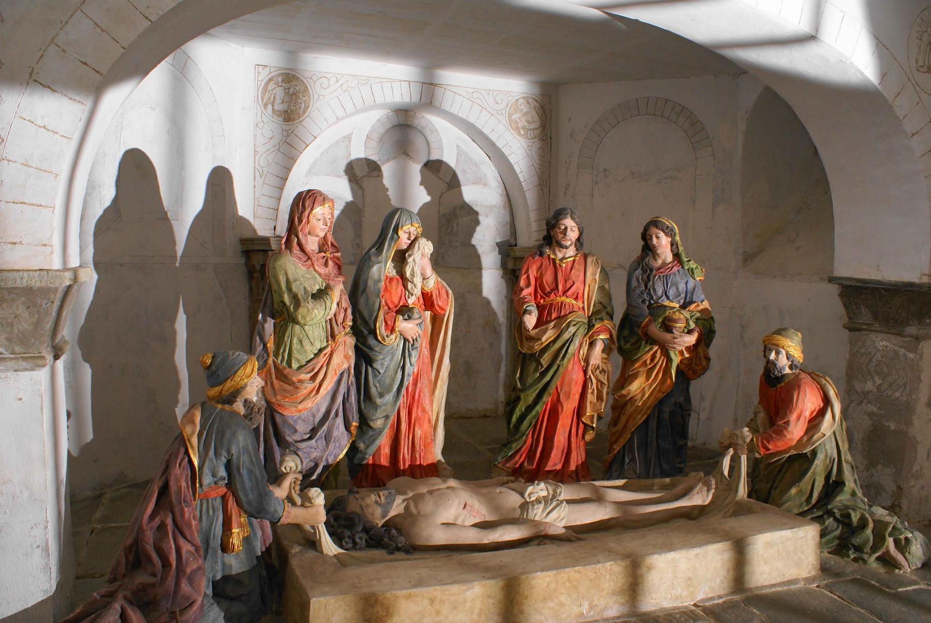 Mise au Tombeau, Eglise de Brélévenez