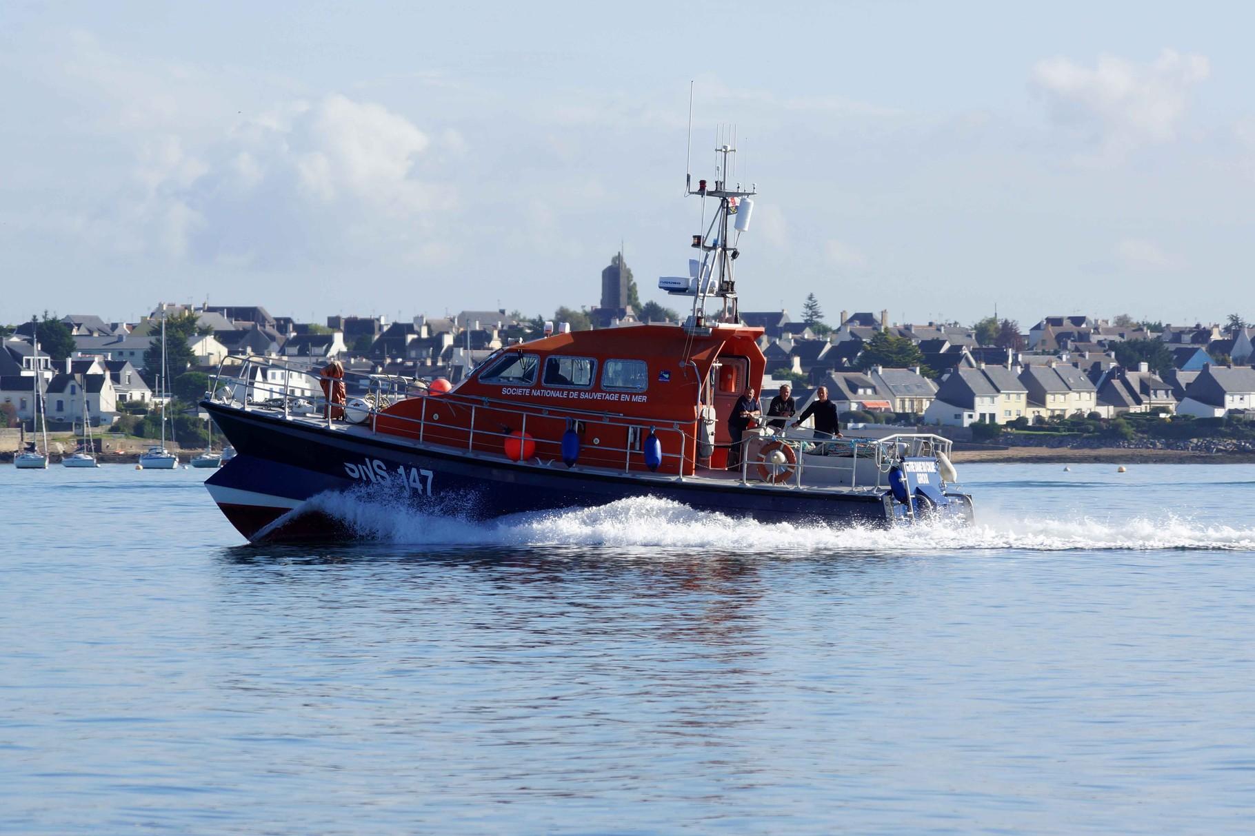 Hommage aux sauveteurs en mer de Groix