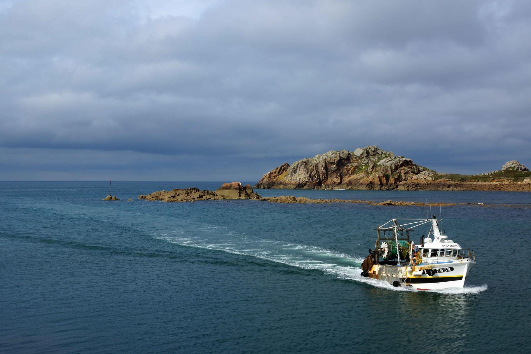 Le Dibenn, un retour de pêche