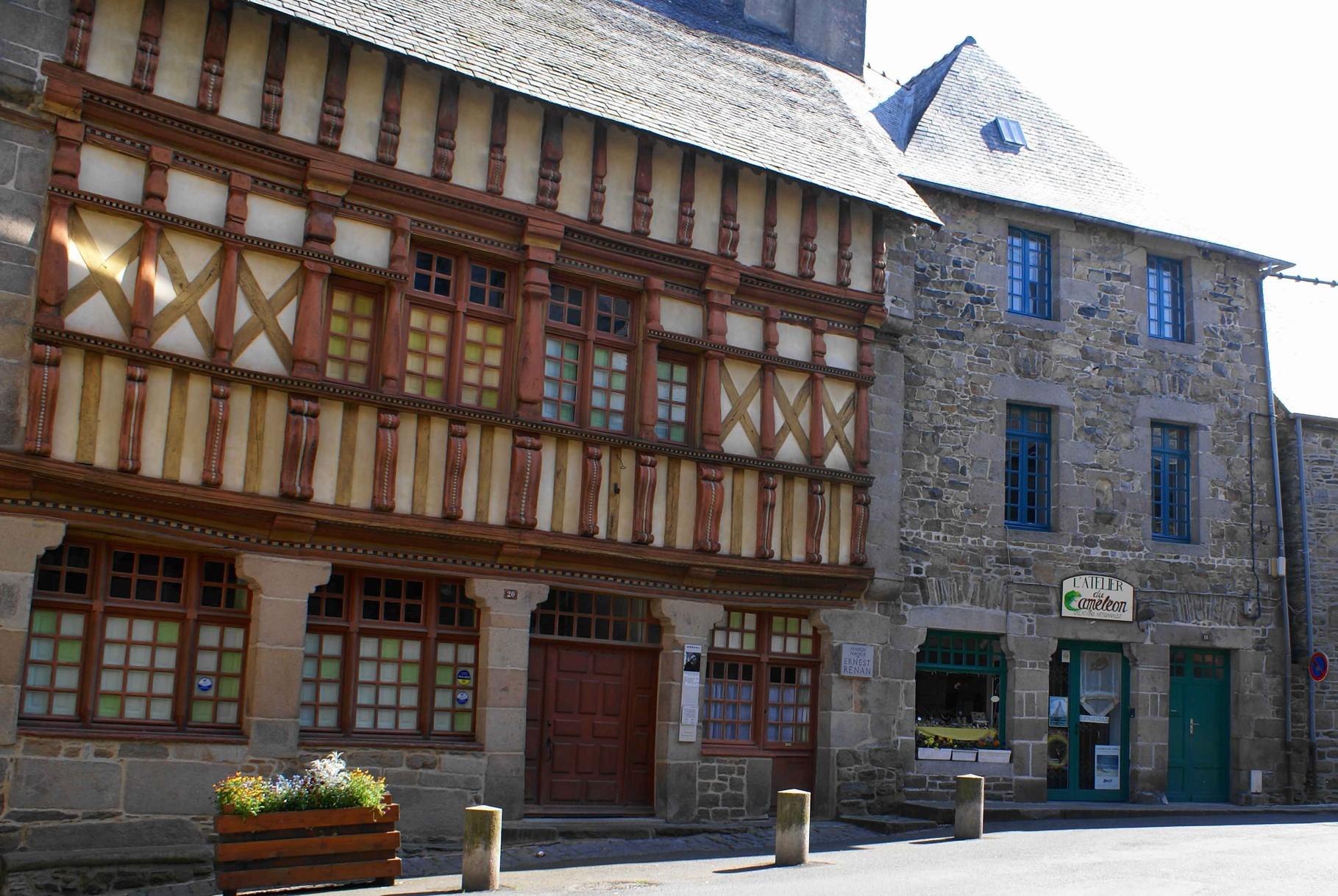 Maison D'Ernest Renan, Tréguier
