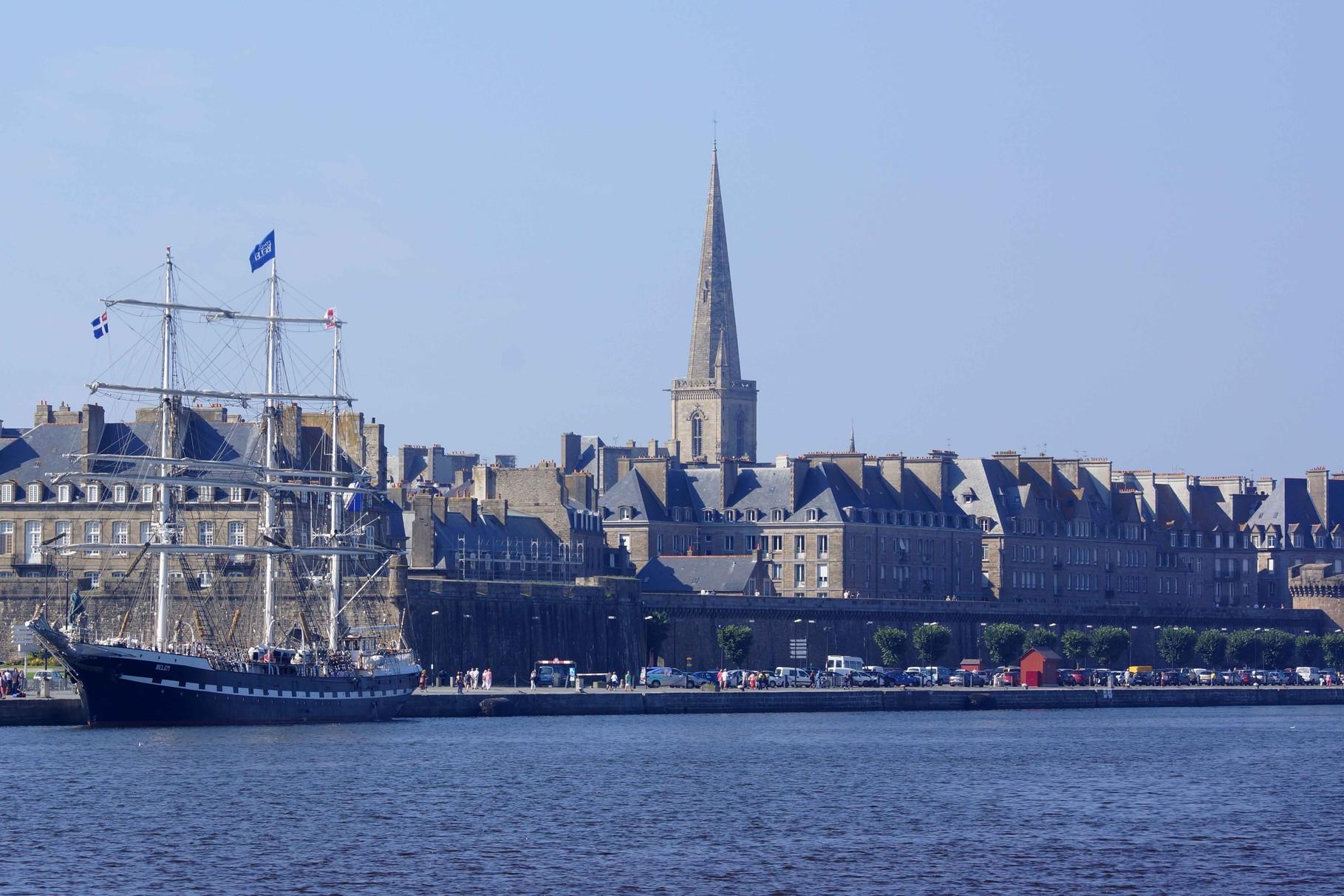 Le Belem à  Saint Malo