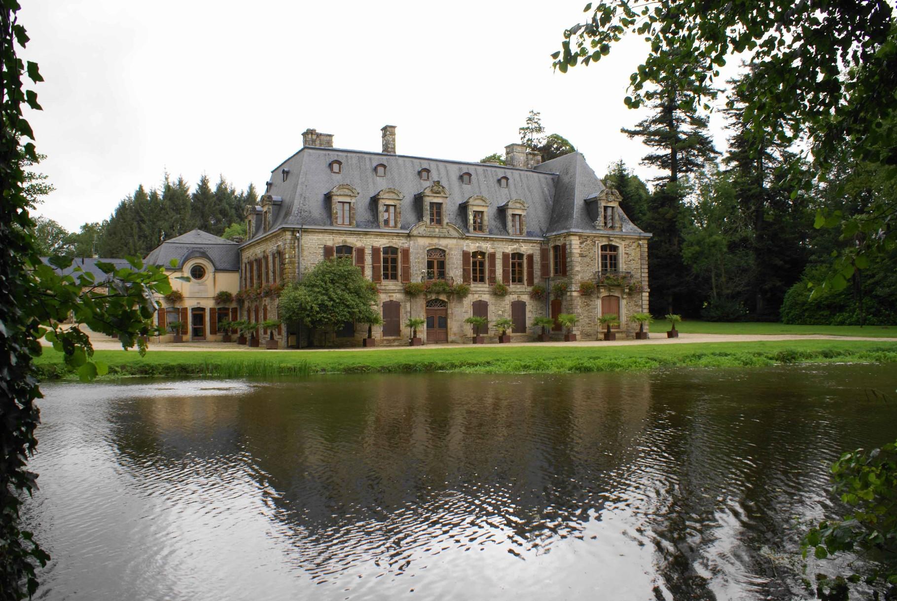 Château de Tronjoli à Gourin