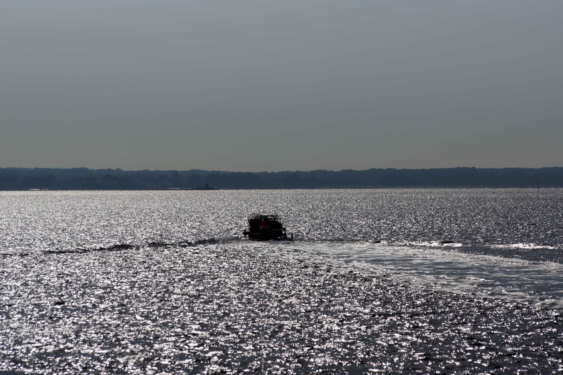 Levé du Soleil sur le Golf du Morbihan