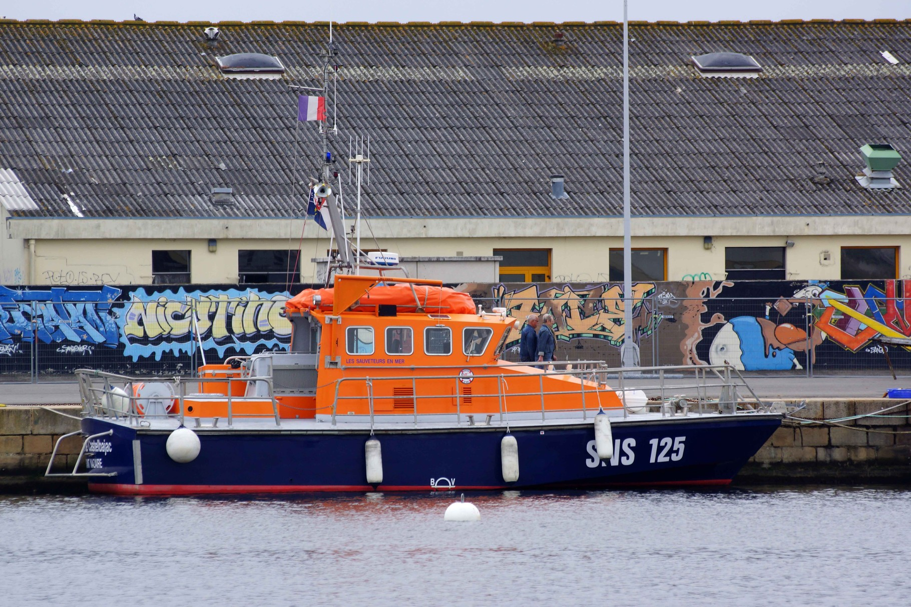 Amiral de Castelbajac (Station de Saint Nazaire ; 14 m / 4 m), mmsi : 227003880 ; SNS 125