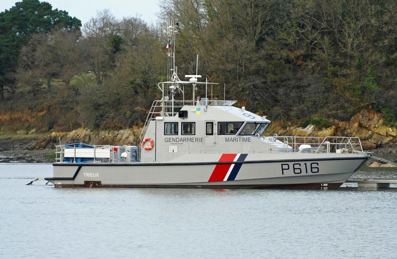 Trieux (Vedettes Côtières de Surveillance Maritime ~ 20 m / 5,32 m ~ Gendarmerie Maritime ~ Saint-Malo)