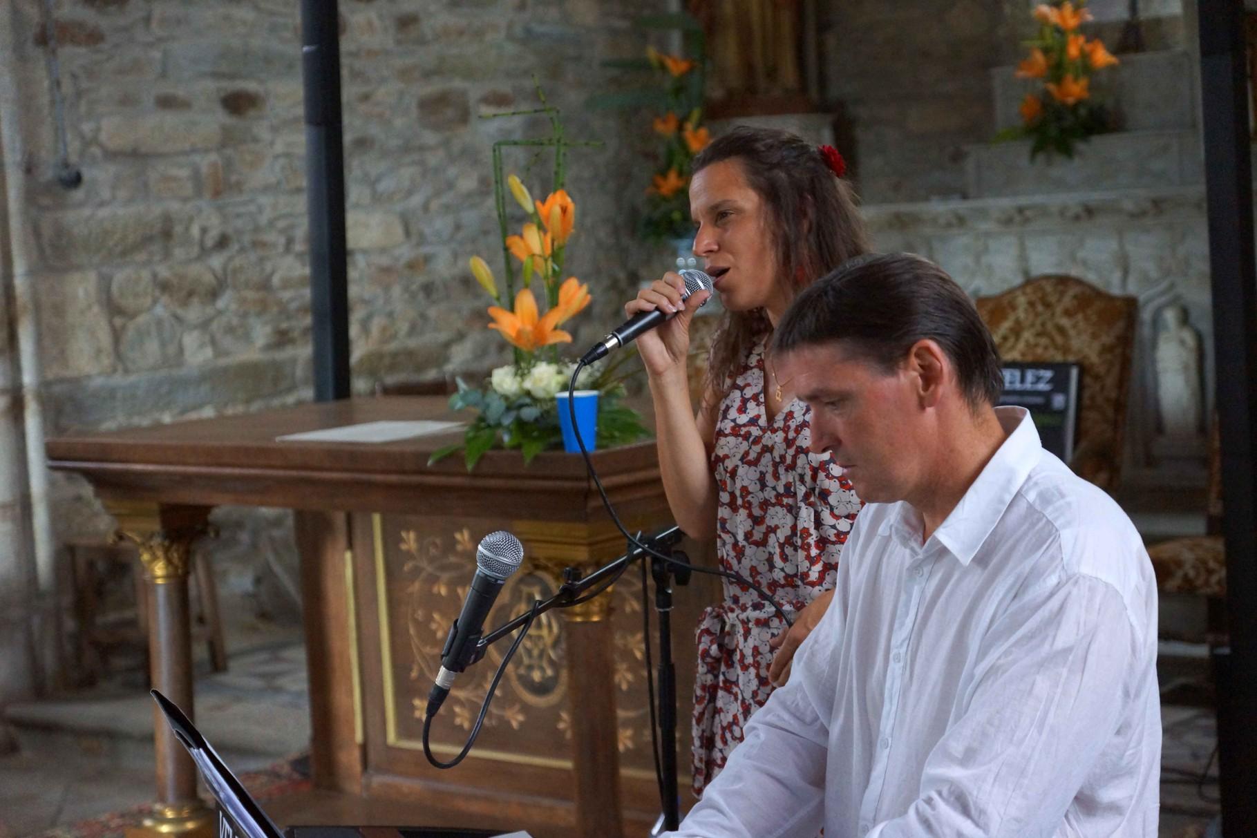 Concert piano voix de Guiclan avec Jean Marc Amis