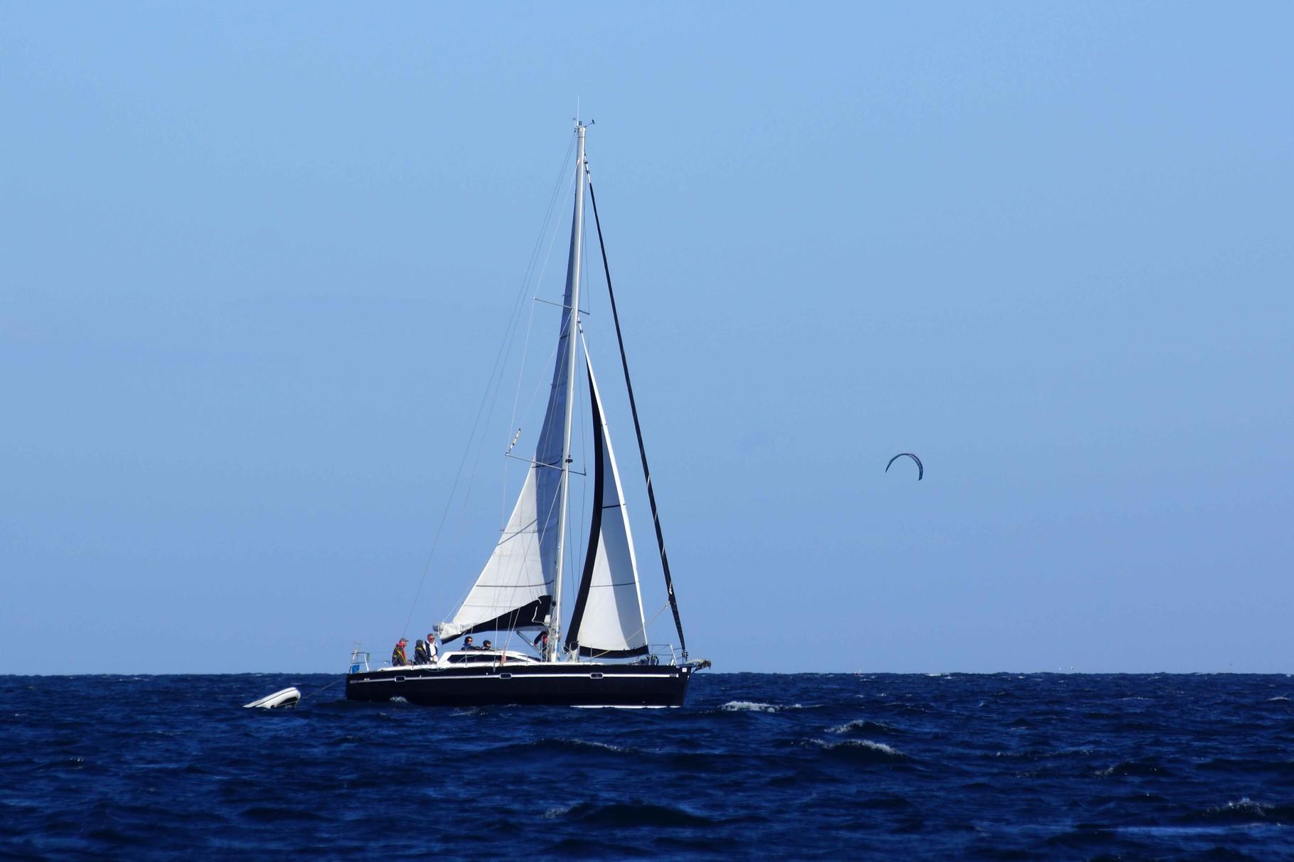 sailing to Glénan