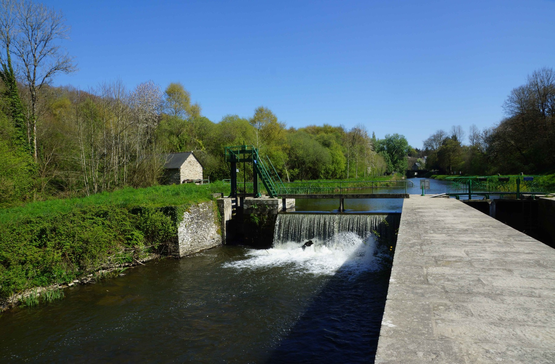 Carhaix, le Canal