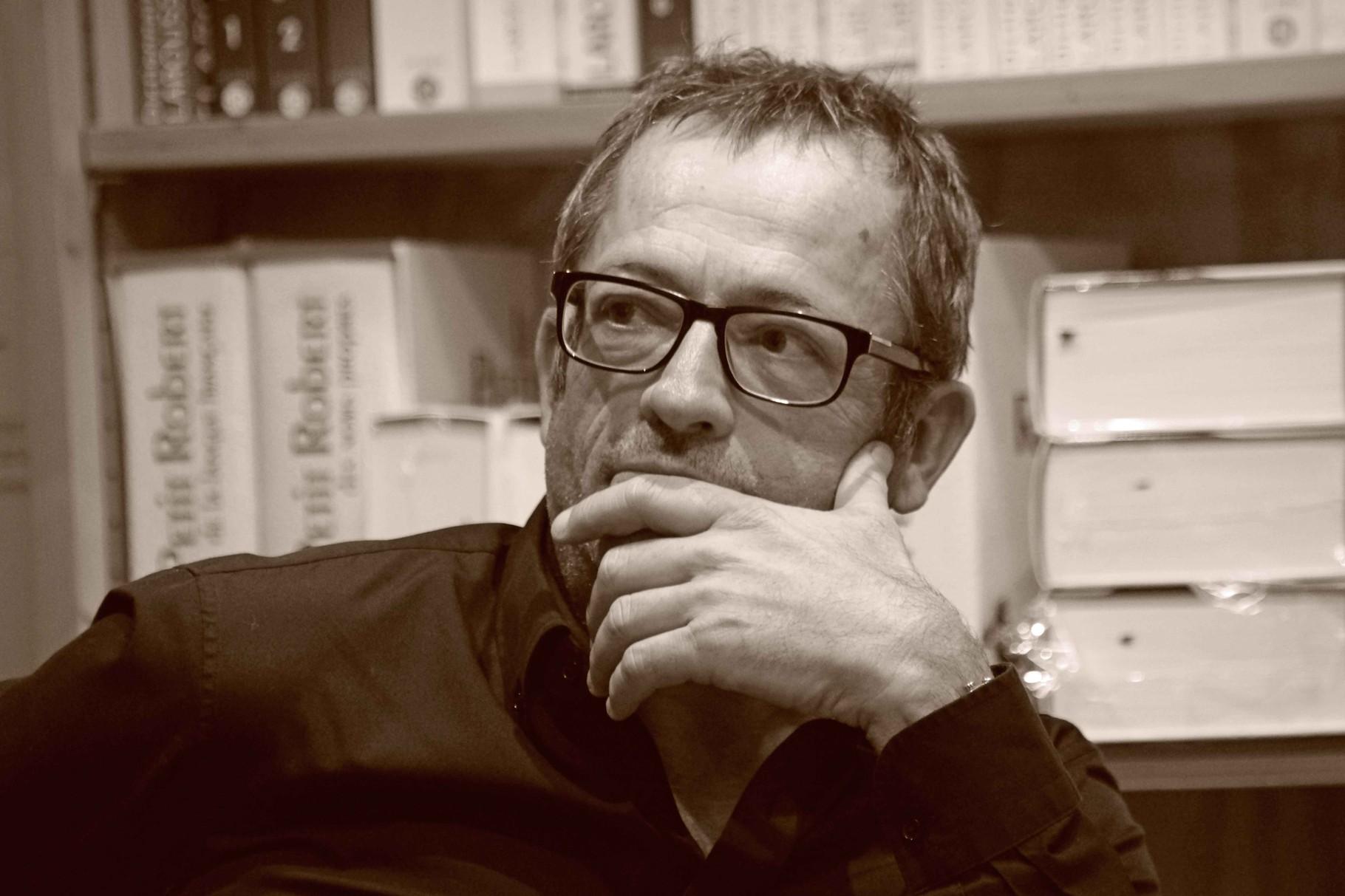 """François Roux ~ Rencontre avec l'écrivain Lannionnais à la librairie Gwalarn pour son roman """"le bonheur national brut"""" vendredi 14 novembre 2014 (Albin Michel)"""