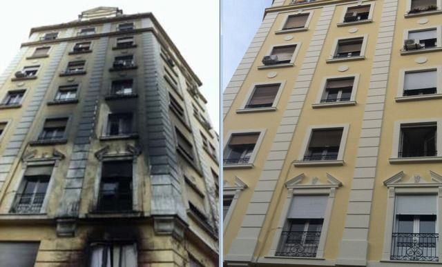 rehabilitar fachada antigua