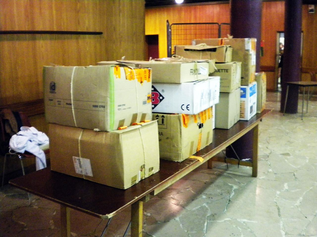 les cartons attendront l'an prochain pour être à nouveau déballés