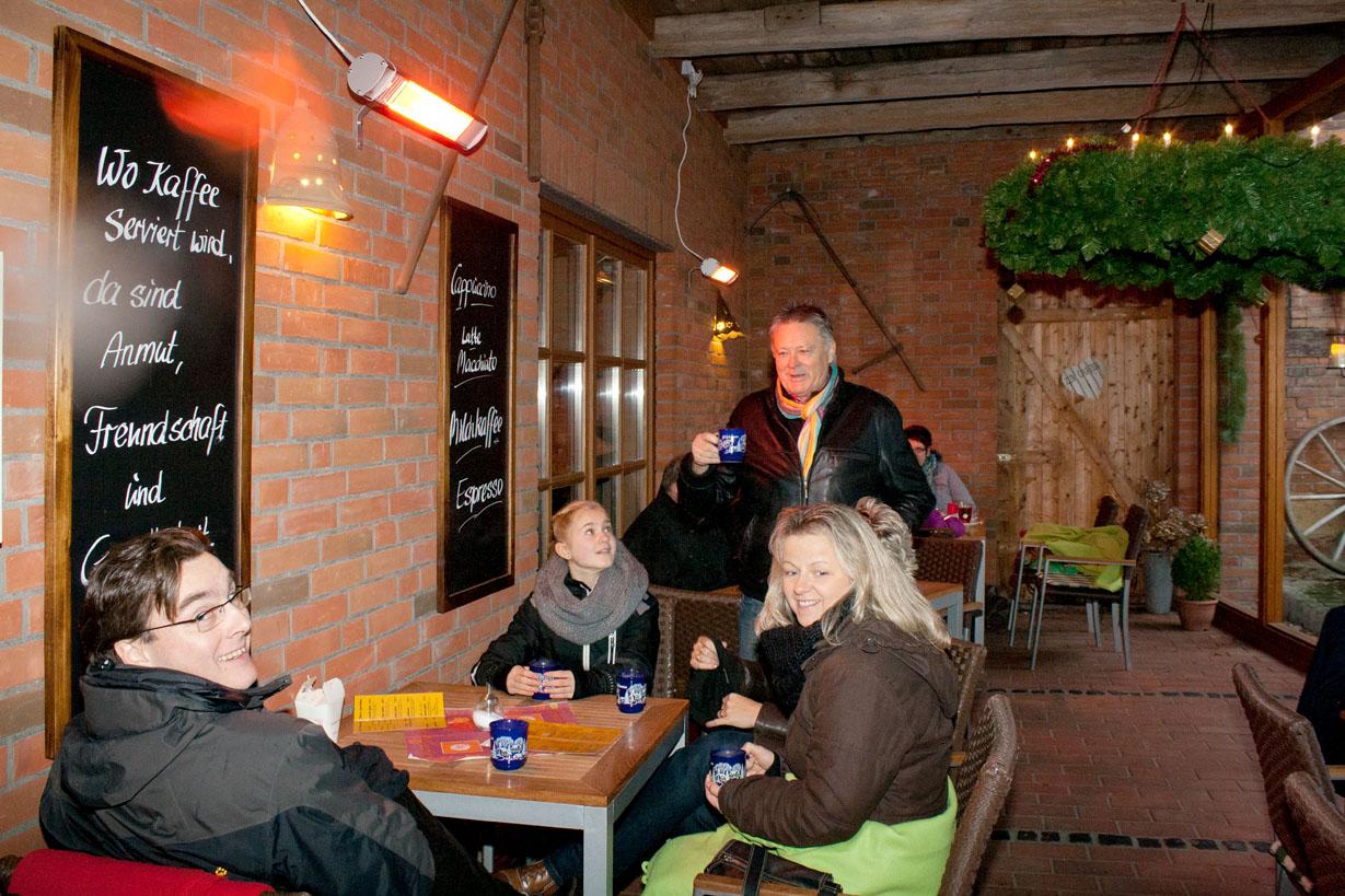 Stederdorfer Weihnachtsmarkt Café Duo