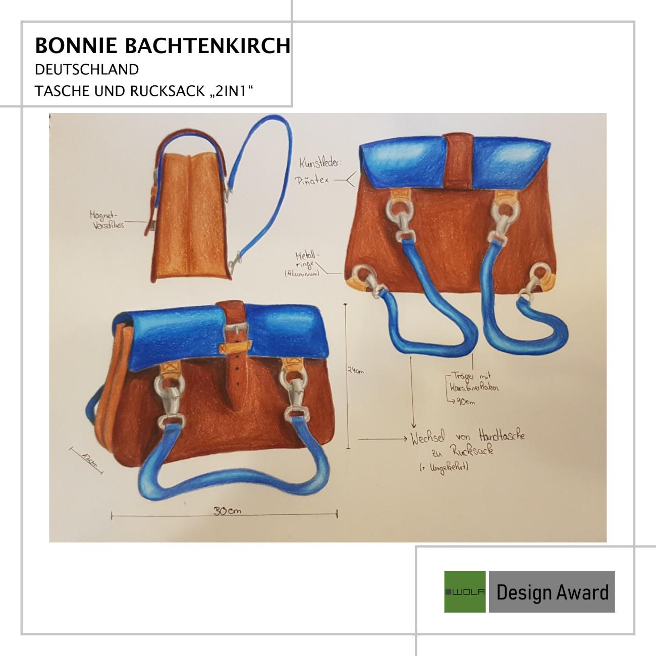 Beitrag WOLA Design Award - Bonnie Bachtenkirch 1
