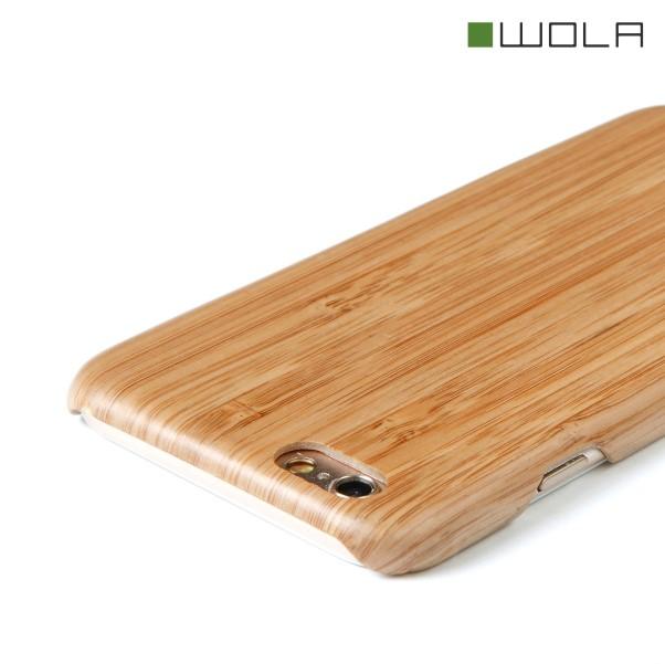 AIR iPhone 6s Hülle Bambus Holz Kevlar