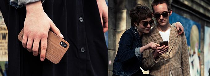 Handyhüllen aus Holz