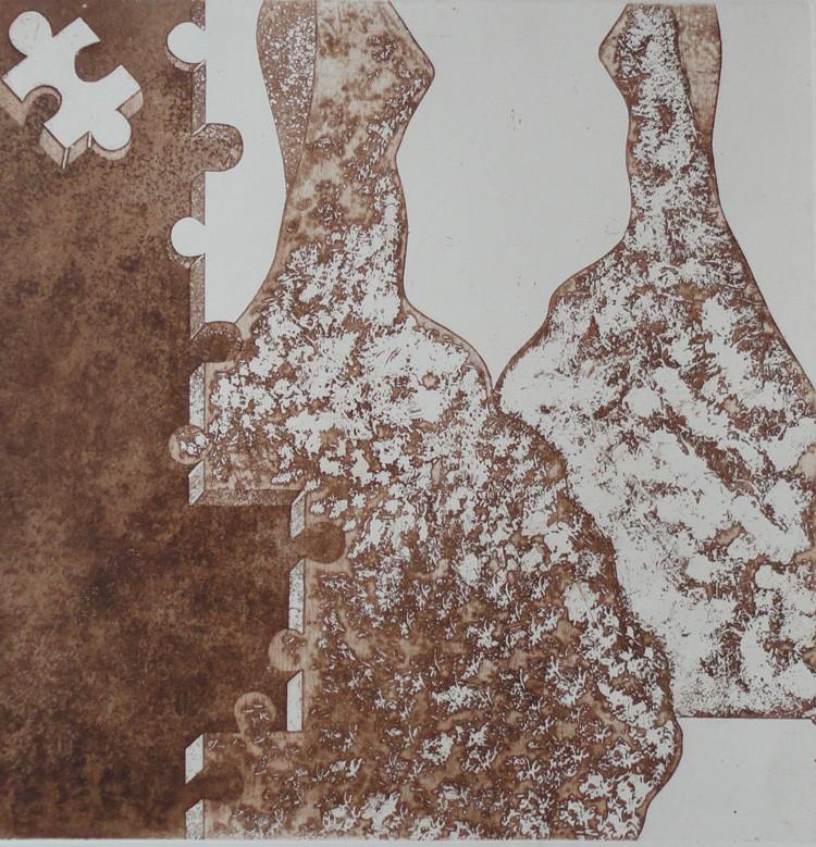 Lost III-1 _ intaglio_ 50 x 50cm _2012