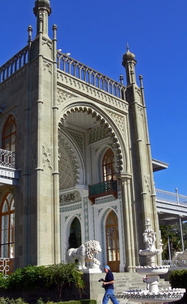 die maurische Süd-Fassade
