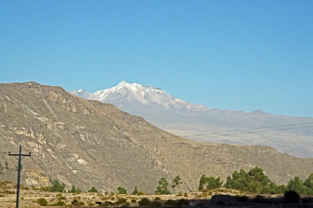 Blick auf die umliegende Berggipfel