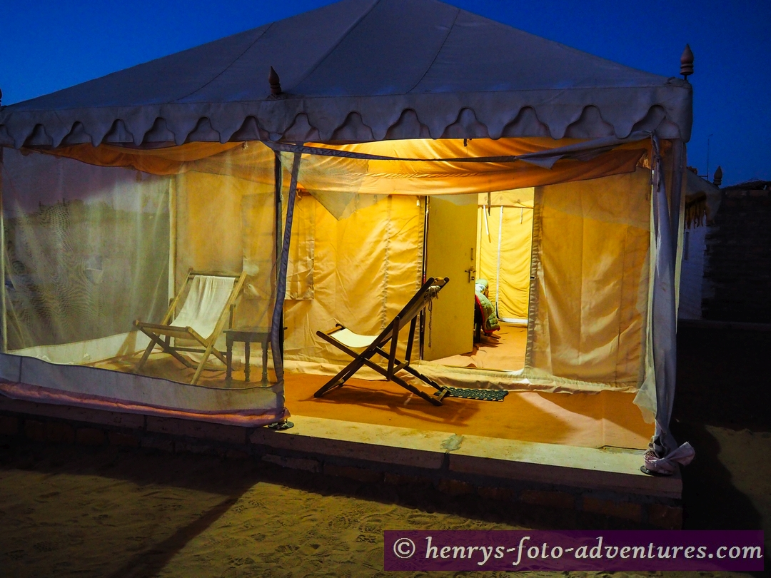 unser Zelt