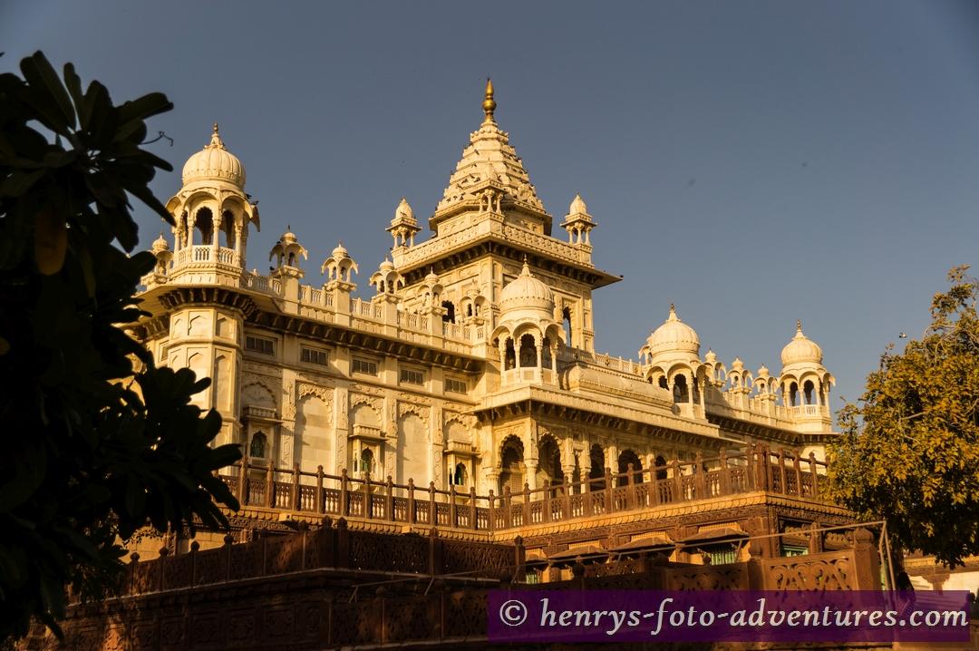 """das """"Jaswant Thada"""", Mausoleum des Maharaja Jaswant SinghII"""