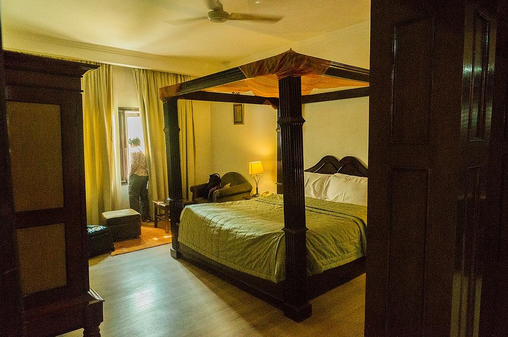 """Bharatpur, """"Hotel Uida Vilas Palace"""", sehr grosszügig"""