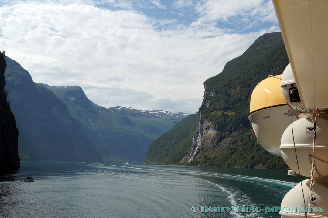 der Geiranger ist einer der bedeutendsten Fjorde Norwegens