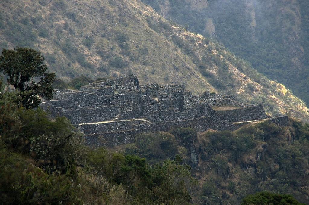 die Ruinen von SAYAQMARCA