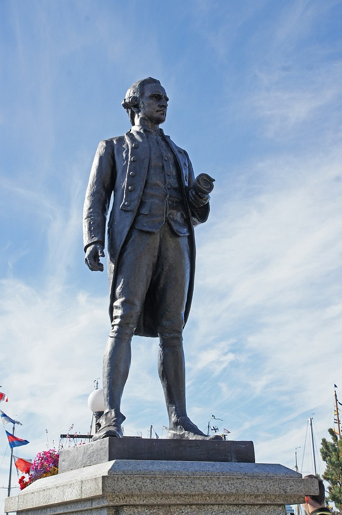 James Cooc 1728-1779, Entdecker dieser Küste