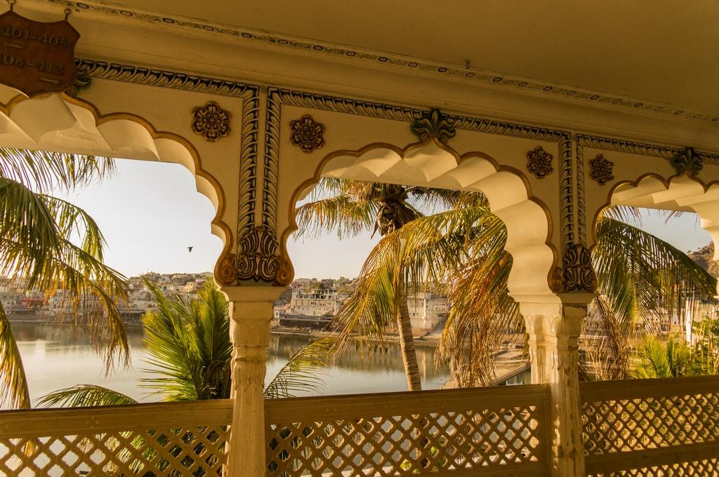 """Pushkar, """"Hotel Pushkar Palace"""", traumhafte Lage direkt am See"""