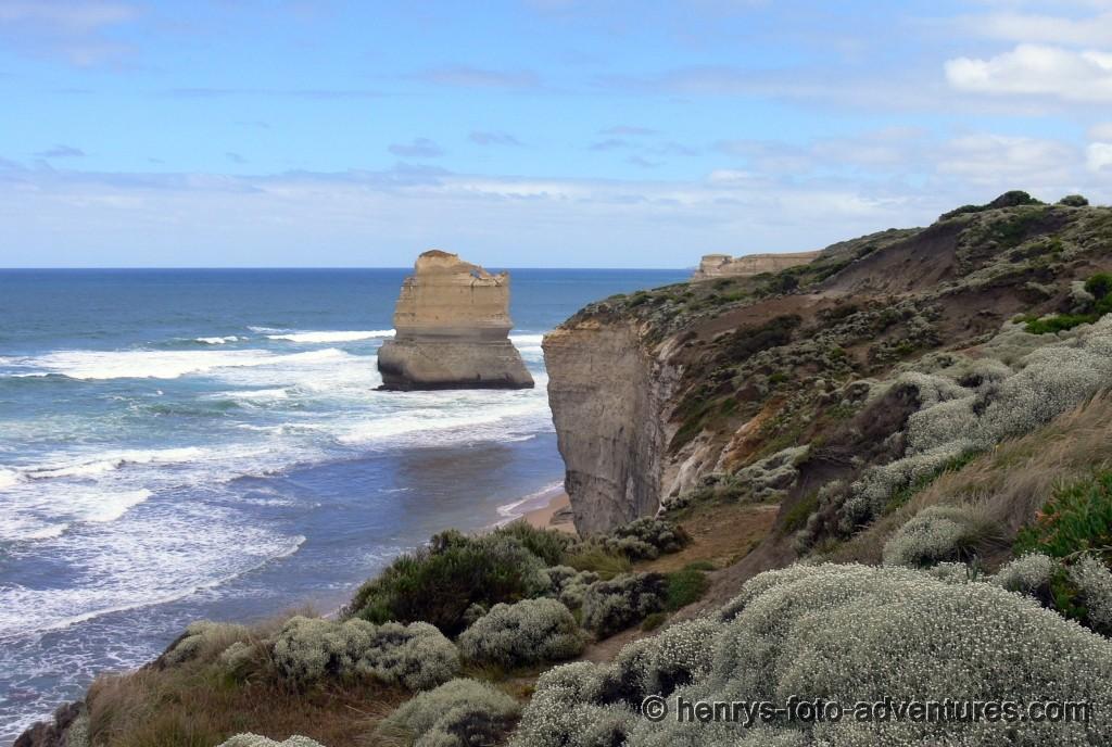 bizarre Gebilde wurden von Meer und Wind geformt