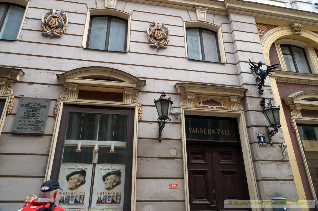 das Richard Wagner- Haus